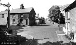Thorp Arch, The Village And War Memorial c.1955