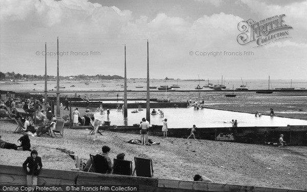 Thorpe Bay, the Paddling Pool 1963