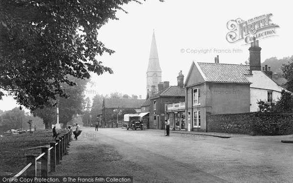 Photo of Thorpe St Andrew, the Village 1922