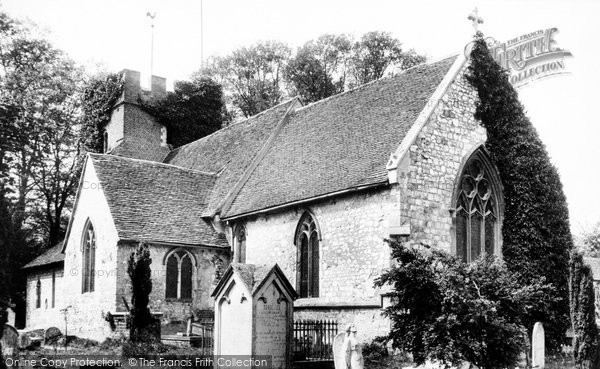 Thorpe Church, 1906.  Reproduced courtesy of The Francis Frith Collection