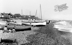 Thorpeness, Beach 1929