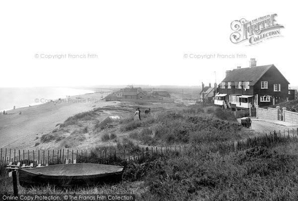 Photo of Thorpeness, the Beach 1922