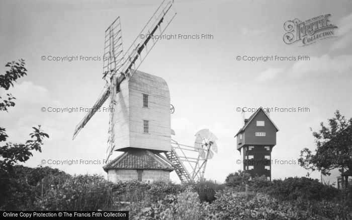 Thorpeness,the house in the clouds & Mill c1955,Suffolk