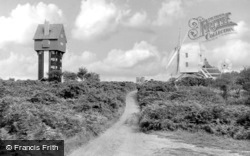 The House In The Clouds And Post Mill c.1960, Thorpeness
