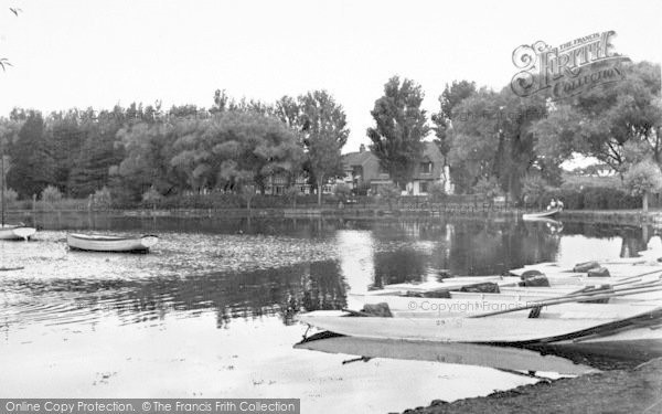 Photo of Thorpeness, The Meare c.1955