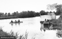 Thorpeness, The Meare From Brigands Haven c.1955
