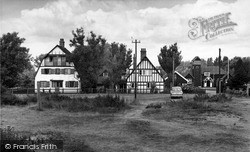 Thorpeness, Tulip Cott, Tabard House And Boathouse c.1955