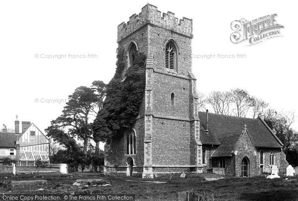 Thorrington, the Church 1900.  (Neg. 45094)  © Copyright The Francis Frith Collection 2005. http://www.frithphotos.com