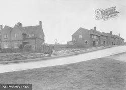 Thrapston, Addison Villas And John Street c.1955