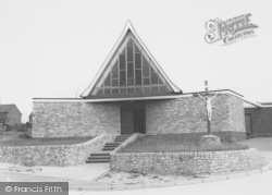 Thrapston, Catholic Church c.1960