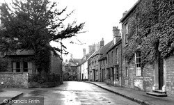 Thrapston, Chancery Lane c.1955