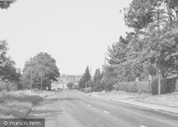 Thrapston, Huntingdon Road c.1955