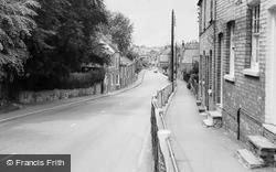 Thrapston, Huntingdon Road c.1960