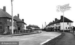 Thrapston, New Council Estate c.1955