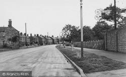 Thrapston, Oundle Road c.1955