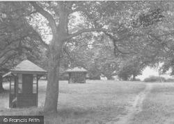 Thrapston, Peace Memorial Park c.1960