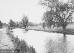 Thrapston, River Nene c.1960