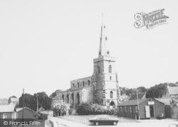 Thrapston, St James' Church c.1960