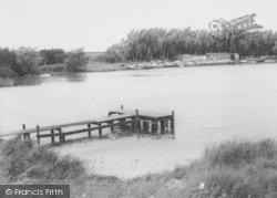 Thrapston, The Gravel Pits c.1960