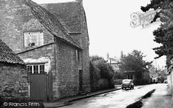 Thrapston, The Manor House c.1955