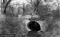 Three Bridges, Bridge Off The Mill Path 1906