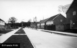 Three Bridges, Chaucer Road c.1960