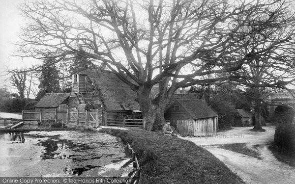 Three Bridges,Hazelwick Mill 1906,Sussex
