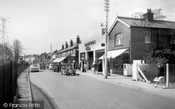 Three Bridges, High Street c.1955