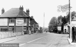 Three Bridges, The Plough Inn c.1950