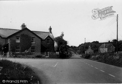 Three Cocks, Down The Village c.1950