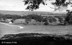 Threshfield, General View From Long Ashes, Netherside c.1950