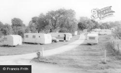 Threshfield, Long Ashes Caravan Park c.1965