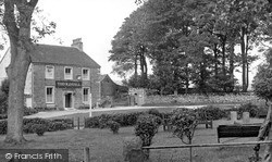 Threshfield, The Stocks And The Old Hall c.1955