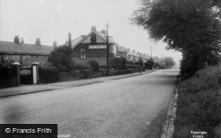 Throckley, Hexham Road c.1950