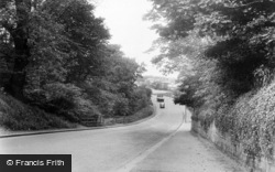Throckley, Hexham Road c.1955