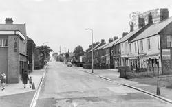 Throckley, Hexham Road c.1965