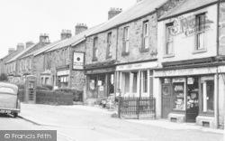 Throckley, High Street c.1950
