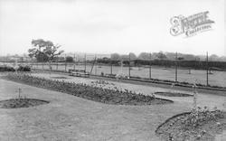 Throckley, Miner's Welfare Park c.1950