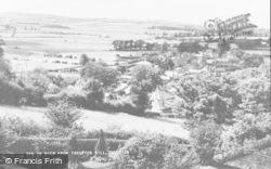 Thropton, From Thropton Hill c.1955