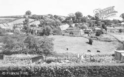 Thropton, Hillside c.1955