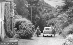Thropton, Packing The Car, The Hill c.1955