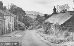 Thropton, The Hill c.1955