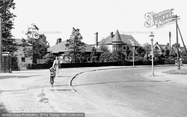 Photo of Thundersley, Hart Road c1955, ref. T113020
