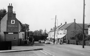 Thundersley, the White Hart and Shops c1965