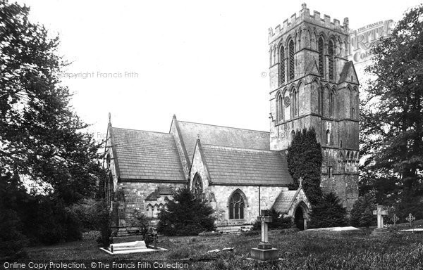 Thurgarton, St Peter's Church 1890