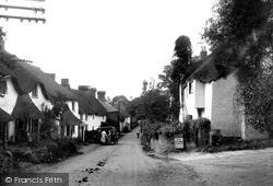 A Pretty Street c.1939, Thurlestone