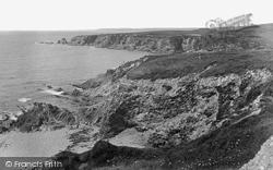 Cliffs And Warren Point 1920, Thurlestone