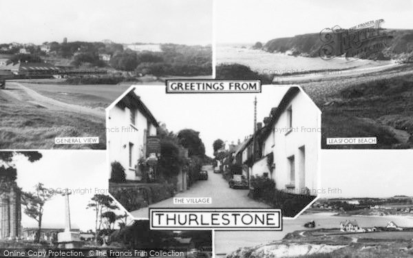 Photo of Thurlestone, Composite c.1960
