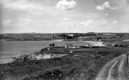 Thurlestone, from the Cliffs c1960