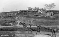 Links Hotel And Bridge c.1935, Thurlestone